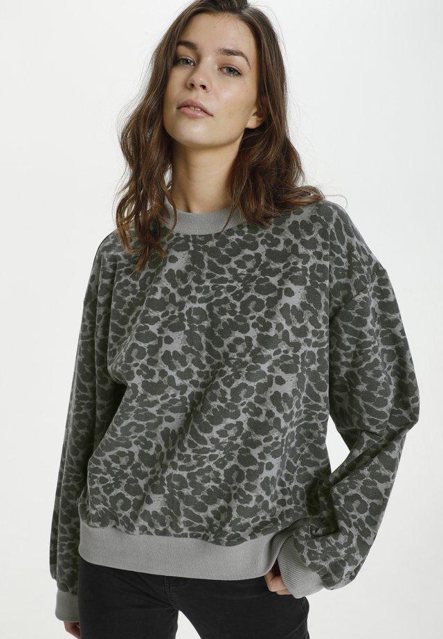 TRUE - Bluza - leo gray