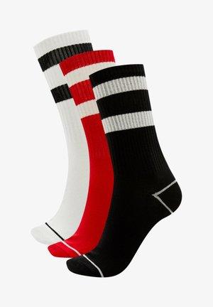 3 PACK - Chaussettes de sport - black