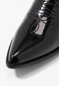 E8 BY MIISTA - MILA - Cowboy/Biker boots - black - 2