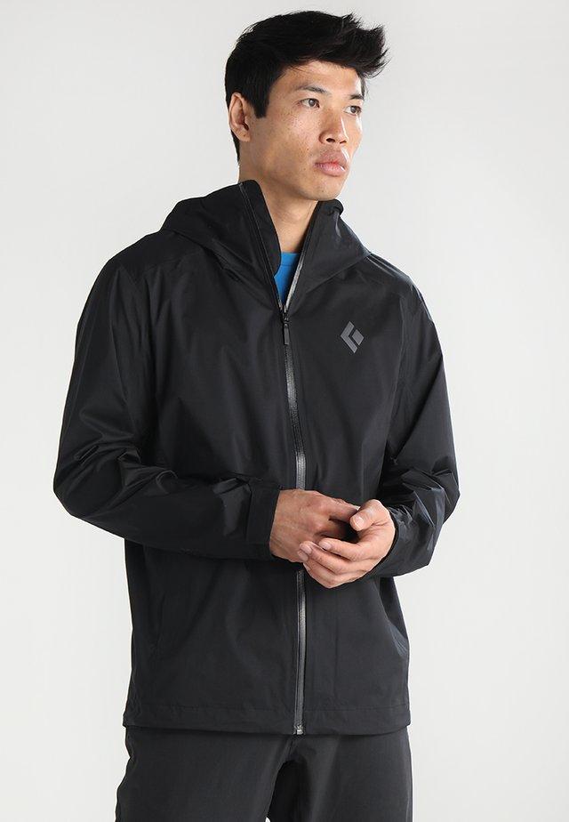 STORMLINE RAIN  - Hardshell jacket - black