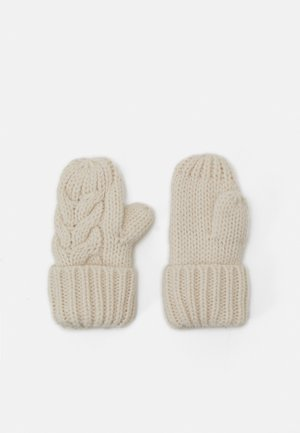 CABLE UNISEX - Wanten - soft ivory