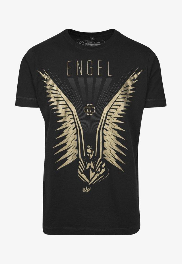 RAMMSTEIN FLÜGEL TEE - T-shirt con stampa - black
