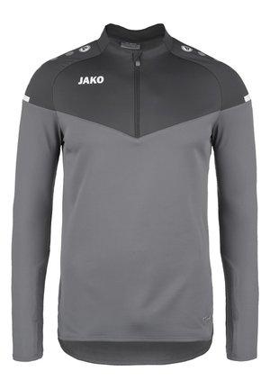 ZIP CHAMP 2.0 - Fleece jumper - steingrau/anthra light
