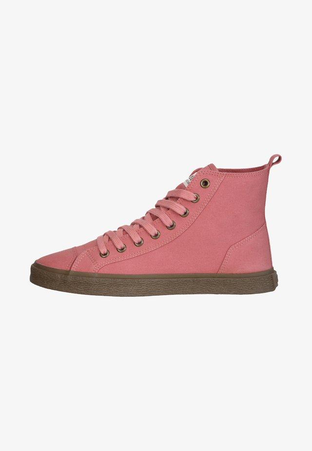 Sneakers hoog - rose dust