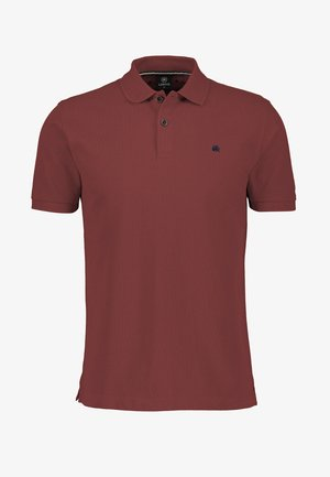 Polo shirt - burnt red