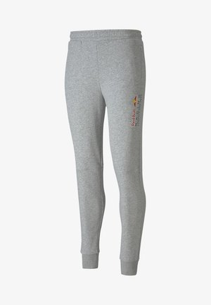 RED BULL - Tracksuit bottoms - light gray heather