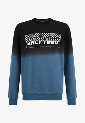 MET DIP DYE DESSIN - Sweatshirt - petrol