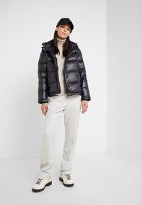 Peuterey - WATER REPELLENT BRYCE  - Down jacket - black - 1