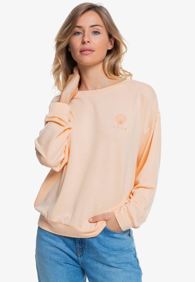 Sweatshirt - apricot ice