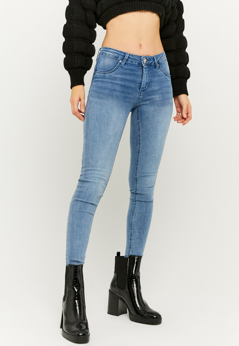 TALLY WEiJL - PUSH-UP  - Jeans Skinny Fit - blue denim