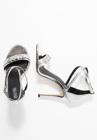 MICHAEL Michael Kors - GOLDIE SINGLE SOLE - High heeled sandals - silver - 3
