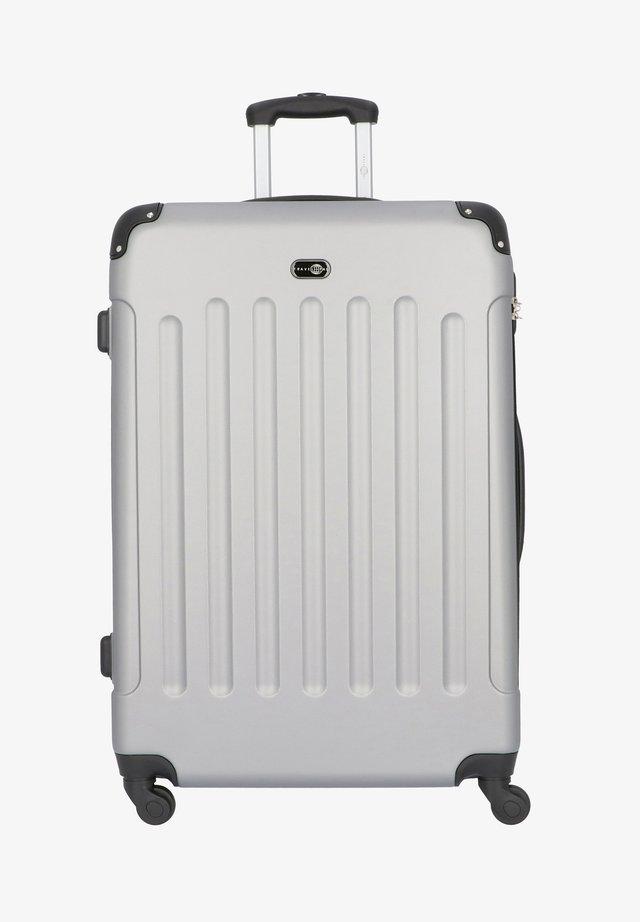 BERLIN 4-ROLLEN TROLLEY 78 CM - Wheeled suitcase - silber