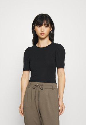 ONLNORA VOLOUME BODY - Basic T-shirt - black