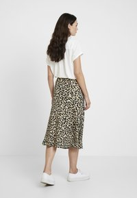 Great Plains London - CARA LEOPARD - A-line skirt - beige - 2