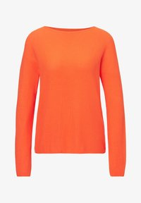 Marc O'Polo - LONGSLEEVE SOLID STRUCTURED SEAMLESS - Jumper - orange - 5