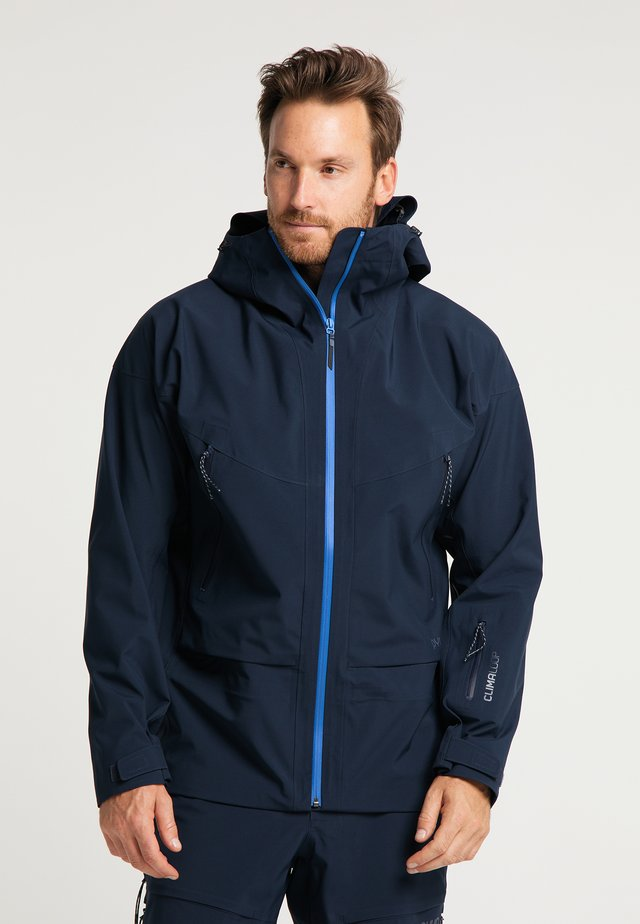 Soft shell jacket - navy blue