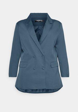 GRANDAD SIDE SPLIT  - Blazer - blue
