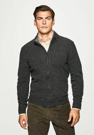 FZIP - Zip-up sweatshirt - charcoal