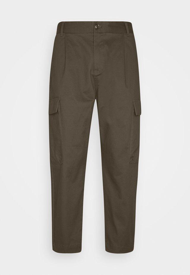 SEASONAL FIT CLEAN CLASSIC - Pantaloni cargo - military