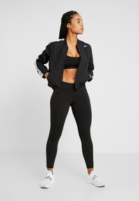 Reebok - ELEMENTS TRAINING TRACKSUIT - Treningsdress - black - 1
