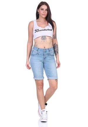 FLORIDA- STRETCH TWILL - Shorts - 2985 light stone