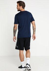 Under Armour - FOUNDATION - Print T-shirt - academy/steel/royal - 2