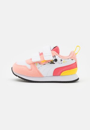 PEANUTS R78 UNISEX - Trainers - apricot blush/white