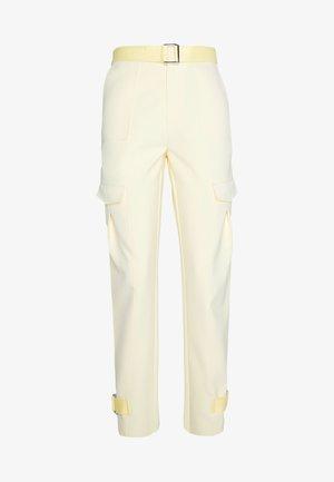 SKUNK TROUSER - Pantalon classique - light yellow