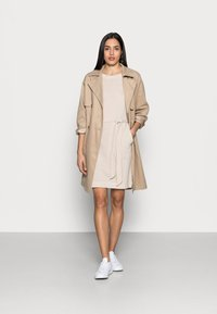 Esprit - DRESS  - Jersey dress - sand - 1