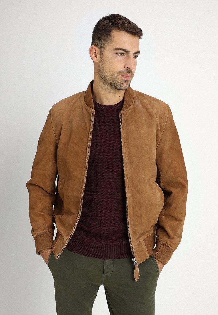 Schott - Kožená bunda - rost