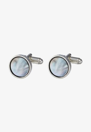 COLLAGEROUND - Cufflinks - dark grey
