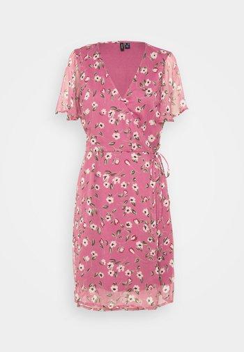 VMKAY WRAP DRESS - Vapaa-ajan mekko - hawthorn rose
