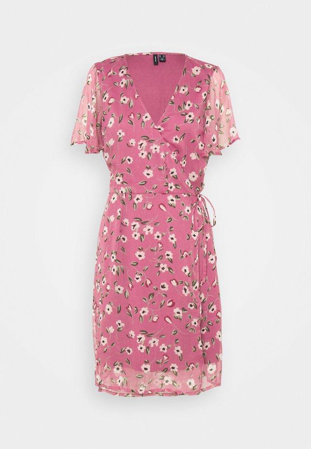 VMKAY WRAP DRESS - Day dress - hawthorn rose