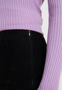 STUDIO ID - LENA SUEDE  - Leggings - black - 4