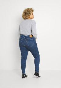 Levi's® Plus - MILE HIGH - Jeans Skinny Fit - blue denim - 2
