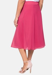 Sheego - A-line skirt - roses wood - 2