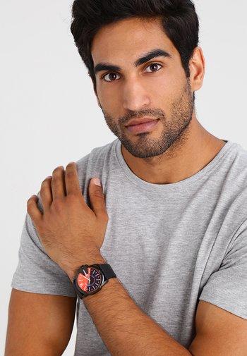 MASTER CHIEF - Chronograph watch - black