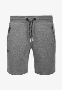 Solid - RAFIK - Shorts - dark grey melange - 3