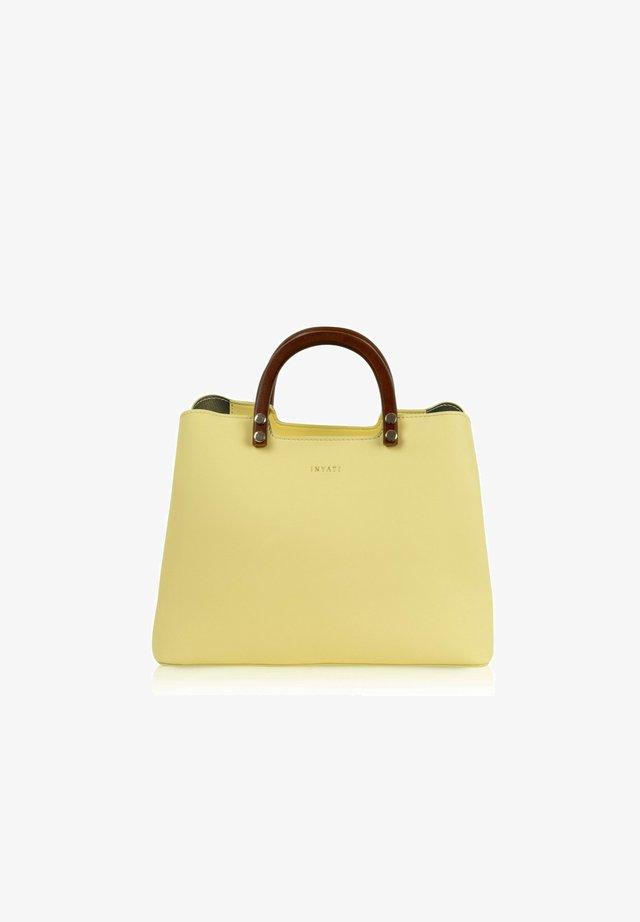 INITA - Handbag - lemon sorbet