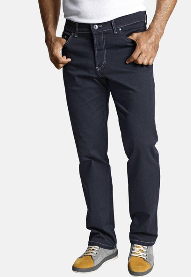 GUNNAR - Straight leg jeans - dark blue