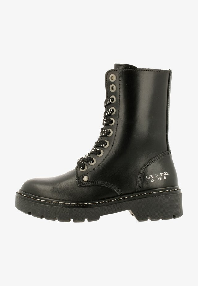 Veterboots - matte black