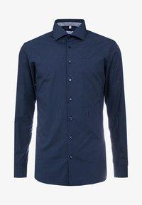SLIM SPREAD KENT PATCH - Shirt - dark blue