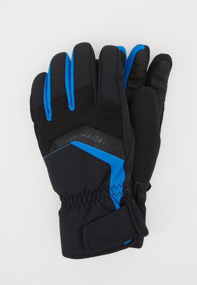GABINO GLOVE SKI ALPINE - Fingervantar - black/blue