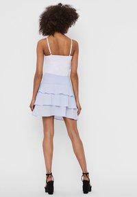 Vero Moda - A-line skirt - xenon blue - 2