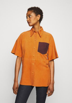 SHORT SLEEVE - Koszula - tropical punch orange