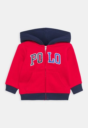 HOOD - Zip-up hoodie - red