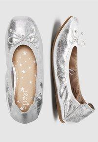 Next - Ballet pumps - silver - 3