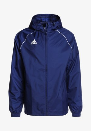 CORE ELEVEN FOOTBALL JACKET - Hardshellová bunda - dark blue/white