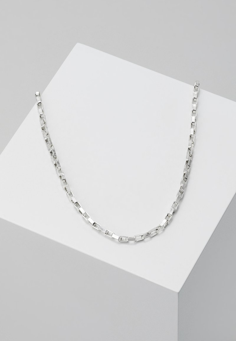 Icon Brand - ALPHA NECKLACE - Ketting - silver-coloured
