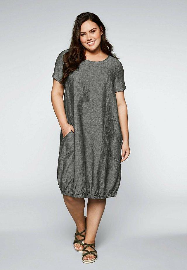 Korte jurk - dunkelkhaki